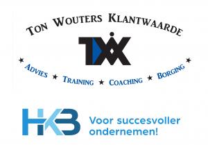 Ton Wouters Klantwaarde en HKB logo voor de MKB Ondernemers Experience
